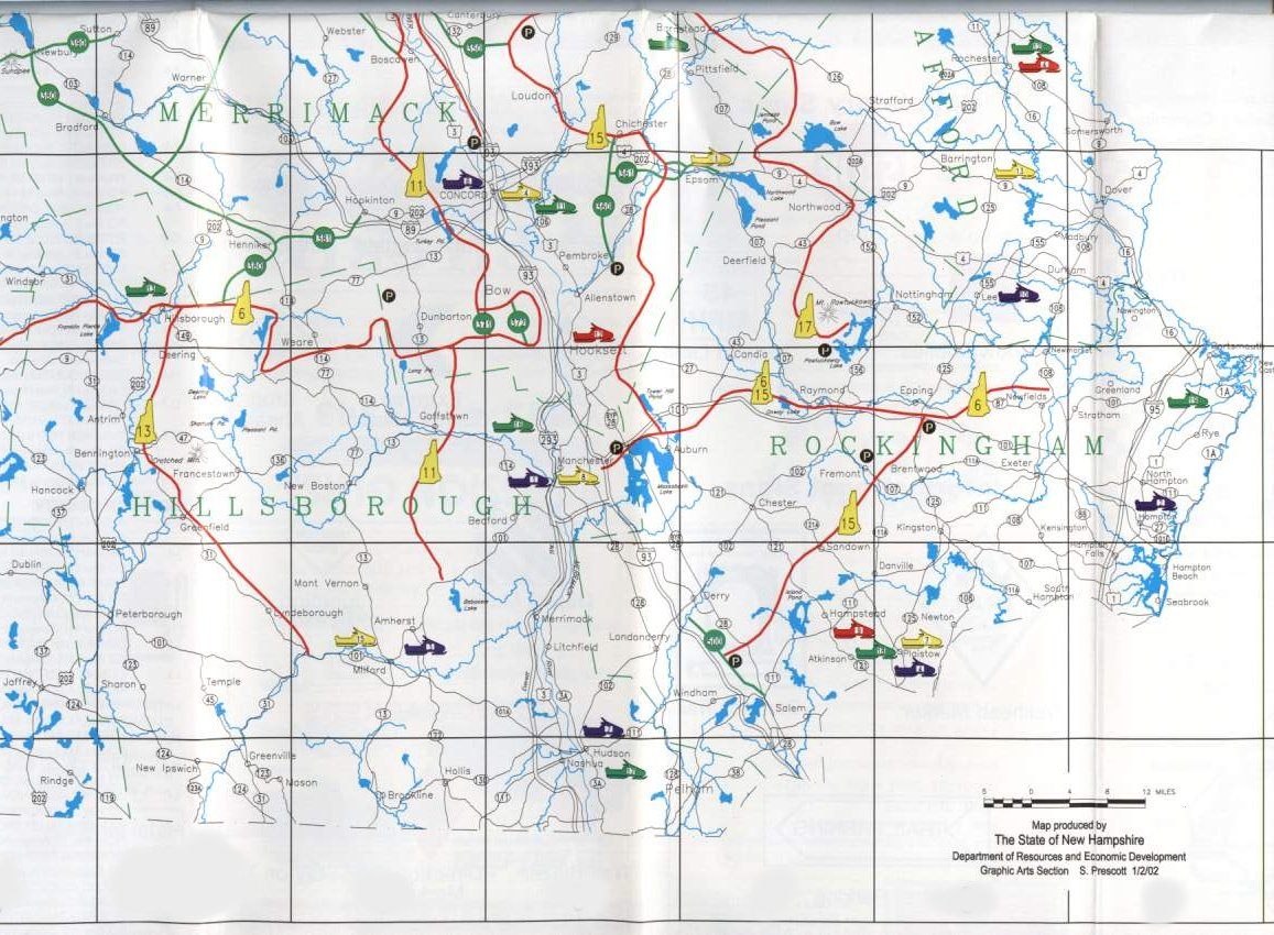 Trail Maps - Southern NH Trailblazers Southern NH Trailblazers on